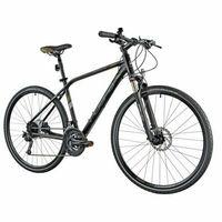 Pozostałe rowery, Rower INDIANA X-Cross 5.0 M21 Czarno-brązowy | 5 LAT GWARANCJI NA RAMĘ DARMOWY TRANSPORT