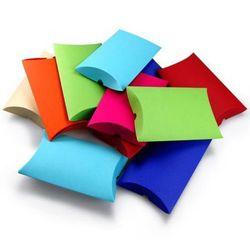 Pudełko ozdobne - poduszka S Mix kolorów