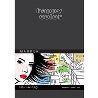 Bloki, Blok do markerów ART A4/25K 100g Happy Color