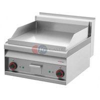Grille gastronomiczne, Płyta grillowa elektryczna podwójna 1/2 gładka 1/2 ryflowana Red Fox linia 700 FTLR - 6 ET