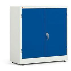 Szafa Style - 2 półki 1000x1000x400 mm - biały, niebieski