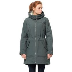 Zimowa parka damska ROCKY POINT PARKA greenish grey - XL