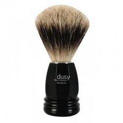 Dusy pędzel do golenia, z prawdziwym włosiem z borsuka