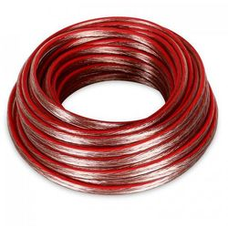 Electronic-Star Kabel głośnikowy 2 x 1,5mm², 10m przezroczysty /+ Kz