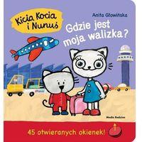 Książki dla dzieci, Kicia Kocia i Nunuś. Gdzie jest moja walizka? (opr. twarda)