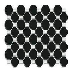 mozaika Secret szklana nero 29,8 x 29,8