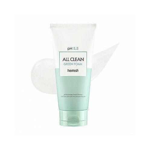 Maseczki do twarzy, HEIMISH All Clean Green Clay Foam 150g