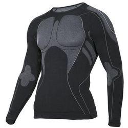 Koszulka termoaktywna L/XL czarno-szara LAHTI PRO L4120103 długi rękaw