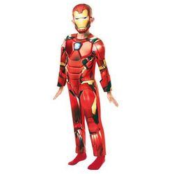 Kostium Iron Man Deluxe dla chłopca - Roz. S