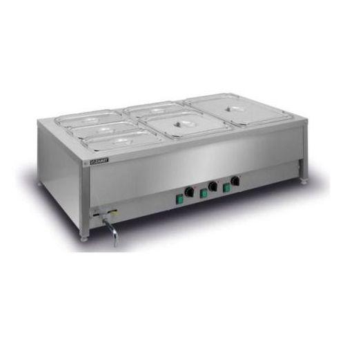Podgrzewacze i bemary gastronomiczne, Bemar elektryczny stołowy 3-komorowy BSN.3GN