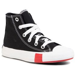 Trampki CONVERSE - Ctas Hi 366988C Black/University Red/Amarillo