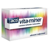 Witaminy i minerały, Acti Vita-miner x 30 tabletek