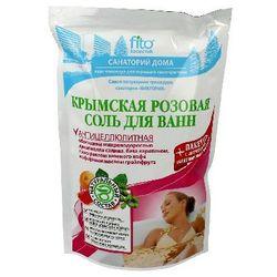 FITOCOSMETICS Sól do kąpieli krymska różowa antycellulitowa 530g - FITOCOSMETICS