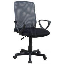 Fotel pracowniczy Alex czarno-szary - gwarancja bezpiecznych zakupów - WYSYŁKA 24H