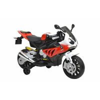 Motory dla dzieci, HECHT BMW S1000RR-RED MOTOR SKUTER ELEKTRYCZNY AKUMULATOROWY MOTOCYKL MOTOREK ZABAWKA AUTO DLA DZIECI - EWIMAX OFICJALNY DYSTRYBUTOR - AUTORYZOWANY DEALER HECHT promocja (-29%)