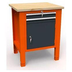 Stół warsztatowy SWT 07/03 'JEDYNKA' 725mm 2 szuflady narzędzia
