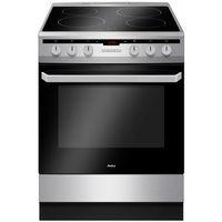 Kuchnie gazowo-elektryczne, Kuchnia Amica 618CE3.333HTaQ(Xx), kl A, 60 cm, chłodny front, pojemność XXL