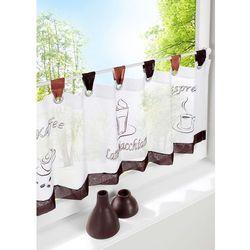 Zazdrostka z nadrukiem z motywem kawy bonprix biały
