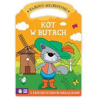 Kolorowanki, Kot W Butach Bajkowe Kolorowanki - Praca zbiorowa