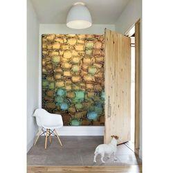 Duże obrazy ręcznie malowane - złota mozajka rabat 10%