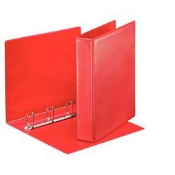 Segregator ofertowy Esselte Panorama 49761 A4/62/4ringi czerwony