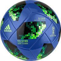 Piłka nożna, Piłka nożna adidas Russia 2018 Telstar glider Ce8100 niebiesko-czarna