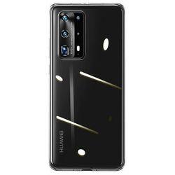 Baseus Simple | Etui cienki pokrowiec case przeźroczysta obudowa do Huawei P40 Pro