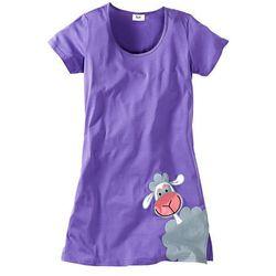 Koszula nocna bonprix jasny lila