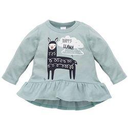 PINOKIO tunika dziewczęca Happy Llama 68 zielona - BEZPŁATNY ODBIÓR: WROCŁAW!
