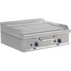 Płyta grillowa gazowa ryflowana nastawna | 790x530mm | 12000W