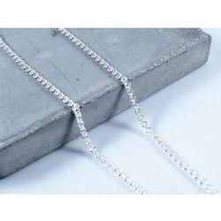 Srebrny (925) łańcuszek ROLO 50 cm + PREZENT