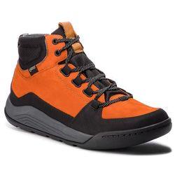 Trzewiki CLARKS - AshcombeArkGtx GORE-TEX 261354137 Burnt Orange