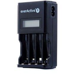 ładowarka everActive NC-450 Black + 4 x akumulatory R03/AAA Fujitsu BLACK 950mAh (box)