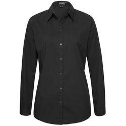 Bluzka z długim rękawem bonprix czarny