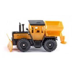 Siku seria 14 Traktor MB z pługiem śnieżnym