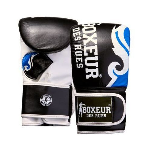 Rękawice do walki, Rękawice bokserskie BOXEUR BXT-5139 (rozmiar M) Czarno-niebieski