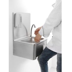 Umywalka kuchenna bezdotykowa 320x400x570 mm | HENDI, 810309