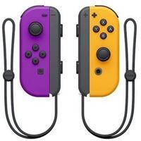 Gamepady, Kontroler NINTENDO Switch Joy-Con Pair Neon Fioletowy/Pomarańczowy