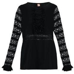 Custommade ANNLI Bluzka z długim rękawem anthracit black