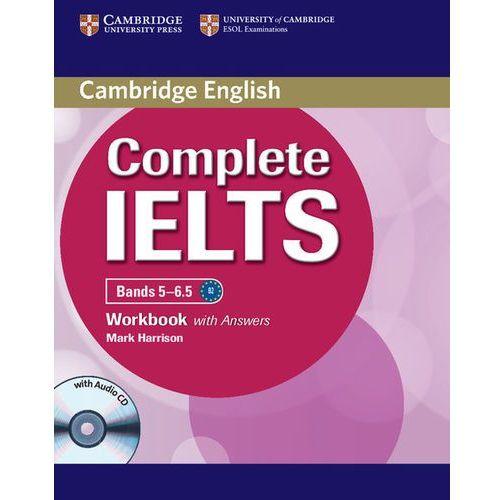 Książki do nauki języka, Complete IELTS Bands 5-6.5 Zeszyt Ćwiczeń z Odpowiedziami Plus Audio CD (opr. miękka)