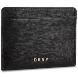 Etui na karty kredytowe DKNY - R92Z3C09 Blk/Gold BGD