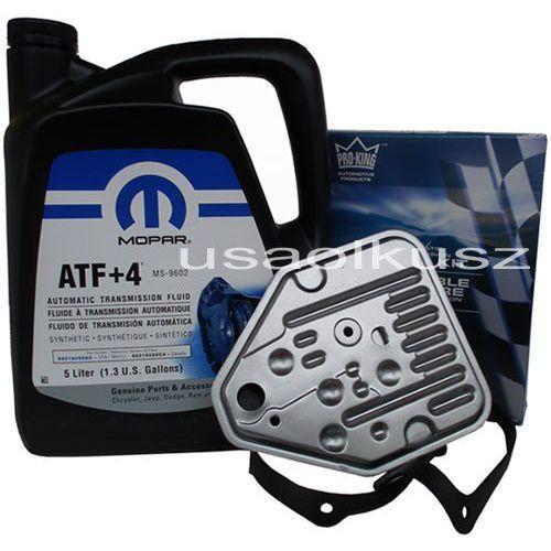 Oleje przekładniowe, Olej MOPAR ATF+4 oraz filtr automatycznej skrzyni 3SPD Chrysler Sebring