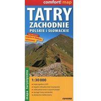 Mapy i atlasy turystyczne, Tatry Zachodnie polskie i słowackie mapa turystyczna 1:30 000 (opr. miękka)