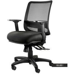 SELSEY Fotel ergonomiczny Sarles z zagłówkiem 912 PLN