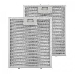 Klarstein Filtr aluminiowy przeciwtłuszczowy 27,1 x 31,8cm fitr wymienny 2 szt. wyposażenie