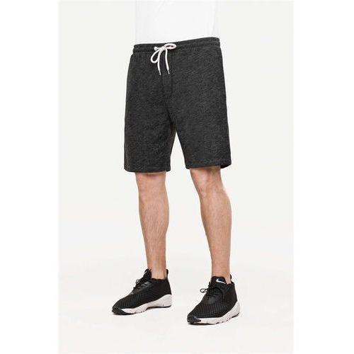 Pozostała odzież męska, szorty REELL - Sweat Black Melange (BLACK MELANGE) rozmiar: L