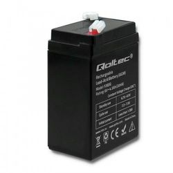 Qoltec Akumulator AGM   6V   4.5Ah   max.1.35A