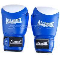 Rękawice do walki, RĘK.BOKS. ALLRIGHT PVC 10 oz BLUE