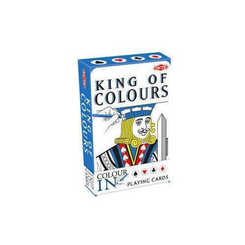 Gry dla dzieci, Classic Color-In Playing 55 kart do kolorowania