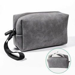 Ugreen kosmetyczka saszetka torba sakwa na drobiazgi urządzenia mobilne telefon portfel szary (LP285 80359)